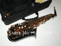 Wholesale Black Nickel Selmer Alto Saxophone Beauty Sax with case