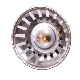 Wholesale Kitchen Stainless Steel Sink Strainer Waste Disposer Plug Drain Stopper Filter