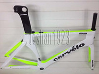 Road Bikes Carbon Fibre 3K 2014 carbon frame Cervelo Bicycle Carbon Frame S5 Team VWD aero road carbon frame+fork+aero seatpost+clamp+headset size is: 48 52 54 56 58cm