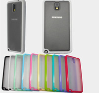 For Samsung Silicone White Samsung N9000 note3 thin transparent frosted mobile phone shell 0.3mm mobile phone n9006 case