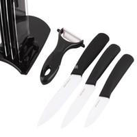 Wholesale Ultra Sharp Durable Ceramics Knife Set quot quot quot Peeler Kitchen Pottery Parer Zirconia