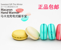 Wholesale Macaron Hand Warmer USB Rechargeable Mini Challenge Po Valentine s Day to send his girlfriend a birthday gift ideas boyfriend