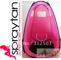 Wholesale 2012 Brand New spray tanning tents PINK