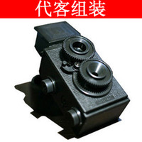Wholesale Valet assembled without camera adult science retro dual digital LOMO camera glasses