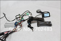 Wholesale 36V New LCD Display electric bicycle track road Latest V New Twist Throttle for e bike motor V W New Controller