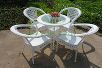 Wholesale rattan garden furniture set outdoor furniture