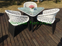Wholesale outdoor white rattan furniture set rattan outdoor furniture