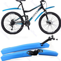 Wholesale Cycling Mountain Bicycle Bike Front Rear Mud Guards Mudguard Fenders Set Hot