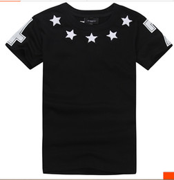 Wholesale New Stars White Black T shirt Series Matching clothing men and women