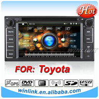 Wholesale Din MTK Touch Screen Car DVD GPS For Toyota corolla With Built in GPS Free Map Iopd BT FM AUX Digital TV