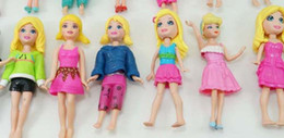 HOT SALE LOT Polly Pockets girl lady female Doll figures Mixed 2 sets 24pcs