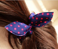 Hair Rubber Bands hair rubber band - bunny ears ring Tousheng rubber band bow head flower hair accessories
