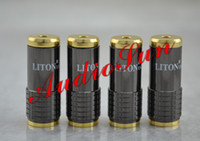 10PCS 3.5mm male connector Brass Free shipping LITON 3.5mm Female Plug Gold Plated solder type Adapter For DIY 10pcs