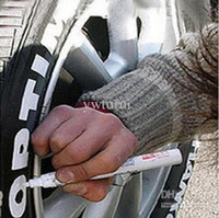 Wholesale New Practical creatively Motorcycle Tire Plastic Paint Pen Fashion White Marker