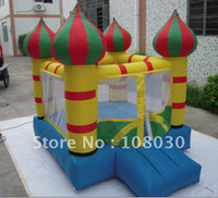Wholesale The mini for children of the air this bed days inflatable bouncer house L7 W6 H6