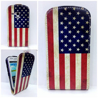 For Samsung Leather Yes FH USA Flag Wintersweet Lily Flower Floral Butterfly Jellyfish Leather Case Cover for Samsung Galaxy S3 mini I8190