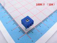Wholesale 100pcs K ohm P High Precision Trimmer Potentiometer Variable Resistor P K
