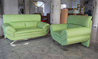 Wholesale French Sofa Design new genuine Leather modern sectional sofa set Chair Love Seat amp sofa set L9067
