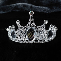 Wholesale Top Quality Luxury Gold Silver Queen Wedding Bridal Tiaras Jewelry Bling Crystal Hair Ornaments Hair Accessories EM01146