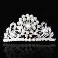 Wholesale Top Quality Luxury Queen Wedding Bridal Tiaras Jewelry Bling Crystal Hair Ornaments Hair Accessories EM01147