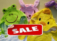 Wholesale baby bath towel animal children s bath towel