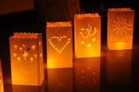 Personalized Wedding Favors animal candle holders - Factory outlets best price HOT SALE INDOOR OUTDOOR CANDLE SAFE LANTERN PAPER TEALIGHT GARDEN BAGS TEA LIGHT WEDDING