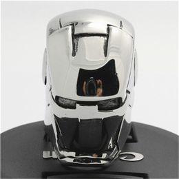 Hot!!Top Quality USA Huge Iron Man Ring Mens Boys 316L Stainless Steel Punk Hot Selling Polishing Iron Man Ring