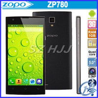Original ZOPO ZP780 5. 0 Inch QHD Android 4. 2 MTK6582 Quad Co...