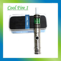 Electronic Cigarette Set Series  Top quality innokin cool fire 1 Starter kit with iclear 30b dual coil atomizer electronic cigarette cool fire 1 Free shipping