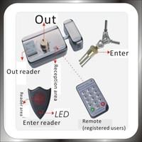 DC12-14V electronic key door lock - DIY KHz Rfid Keypad Access Control System Kit Electronic Door Lock V A Power Supply KEY card