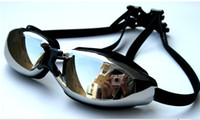Wholesale 9880 swimming goggles myopia plain electroplating factory water fog male and female models