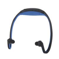Sport MP3 Cuffie WMA Lettore Musicale TF/ Micro SD Card Slot senza fili Cuffia Auricolare V532