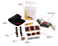 Wholesale Bicycle multifunction tool kit repair tire repair tools repair kit bagged c055
