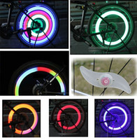 Wholesale New Arrival LED Bicycle Spoke Wheel Safety Light Cycling Push Bike Mountain Bicycle Lights edison2011