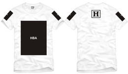 Wholesale Chinese Size S XXXL summer t shirt Hood By Air HBA X Been Trill Kanye blank print Hba tee shirt color cotton