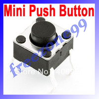 Wholesale 1000pcs SMD Tactile Tact Mini Push Button Switch Micro Switch Momentary FZ0136 Dropshipping