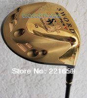 Wholesale 2013 New KATANA SWORD SNIPER Golf driver loft Gaphite shaft R S Flex With head covers EMS