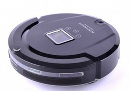 Wholesale 3 Years Global Warranty in Auto Cleaning Robot bagless LCD Screen touch Button schedule virtual Wall as irobot roomba robot cleaner