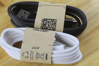 Wholesale Micro USB Charger Cable for Samsung Galaxy S4 Note Sync Data Charging Adapter Lead Cord for HTC LG Nokia Cell Phones Universal DHL Free