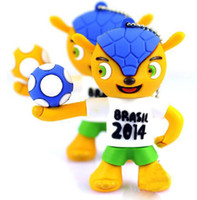 Wholesale Retail Plastic Hot GB World Cup Brasil Shape USB Flash Drive Real Capacity GB GB GB GB GB Pen Drive USB Stick Memory Stick