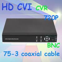 Wholesale New trend Hd cvi dvr ch P hd cvr P camera system mega pixel hdcvi system with recording update CCTV system