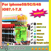 Wholesale ORIGINAL R SIM mini newest RSIM mini R SIM MINI Perfect unlock IOS X for iphone s G S C ATT T M SB T mobile