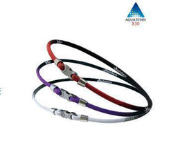Wholesale Radiation anti fatigue titanium necklace Titanium ring collar Item E006