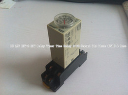 Wholesale DC V H3Y H3Y Delay Timer Time Relay Second s sec VDC amp Base