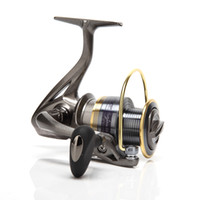 Cheap Skysper ® Spinning Reel Fishing Reels for Lake Brown Left and Right Hand (A3000)