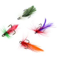 Wholesale New set Various Dry Fly Hooks Fishing Hard Lure Trout Salmon Dry Flies Fish Hook Bait MG02