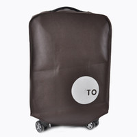 Wholesale Trolley sleeve checked luggage set suitcase thick dust and waterproof protective cover inch inch inch inch