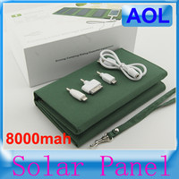 0-20 W solar charger laptop computer - new outdoor receive bag folding mobile power supply ma solar charger can charge the battery for mobile phone tablet computer
