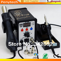 750W±10% Yes ±5  Free shipping 220V ATTEN AT8586 2 in1 Hot Air SMD Rework Soldering Station Desoldering Station ATTEN 8586