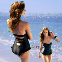 Wholesale 2014 Drop discount bikini set brand designer women swim wear push up bathing suit swimwear bath set